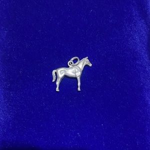 Sterling Silver Horse Charm 🐎💛